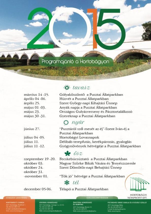 2015 programok